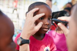 Four Different Kinds of Eye Diseases in Children