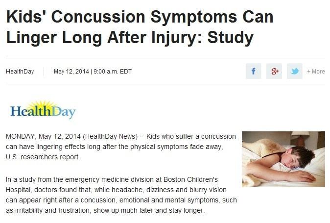 Kids Concussion